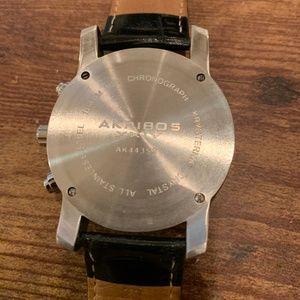 Akribos XXIV Accessories - Akribos XXIV AK443SS Chronograph Tachymeter black
